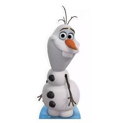 Levensgrote Olaf frozen kartonnen figuur