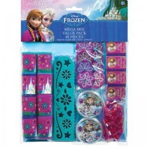 Frozen Disney mega mix uitdeelcadautjes 48stuks (8 personen)