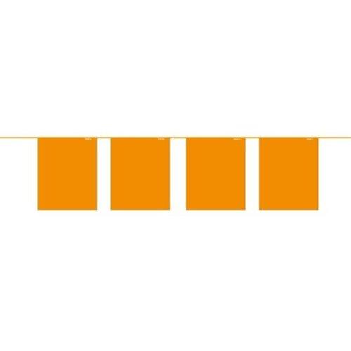 Mini oranje vlaggenlijn