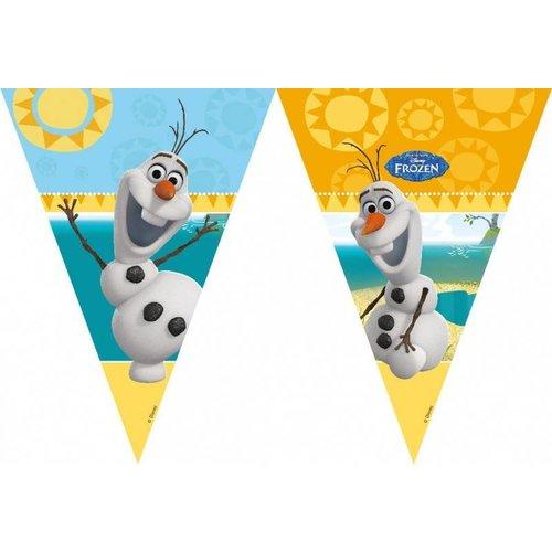 Olaf Frozen, vlaggenlijn