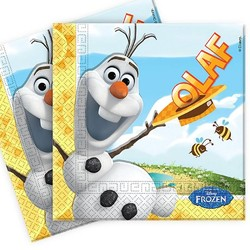 Olaf Frozen, servetten (zomer)