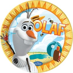 Olaf Frozen, borden groot (zomer)