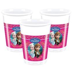 Frozen Disney bekers, 8 stuks