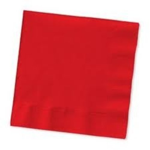 Servetten, rood