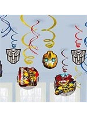 Transformers Prime hangdecoratie (12 stuks)