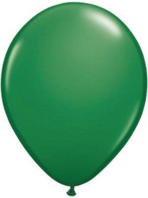 Groene ballonnen, 10 stuks