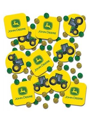 John Deere Traktor confetti