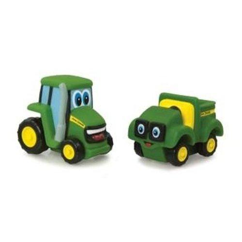 Johnny tractor en Allie Gator