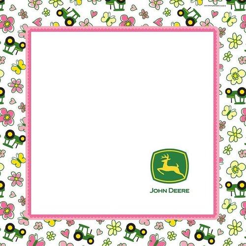 John Deere meisje servetten