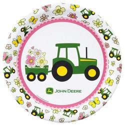 John Deere meisje groot bord