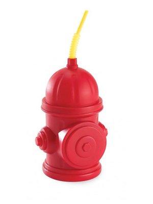 Brandweerbeker in vorm van een brandkraan (groot)