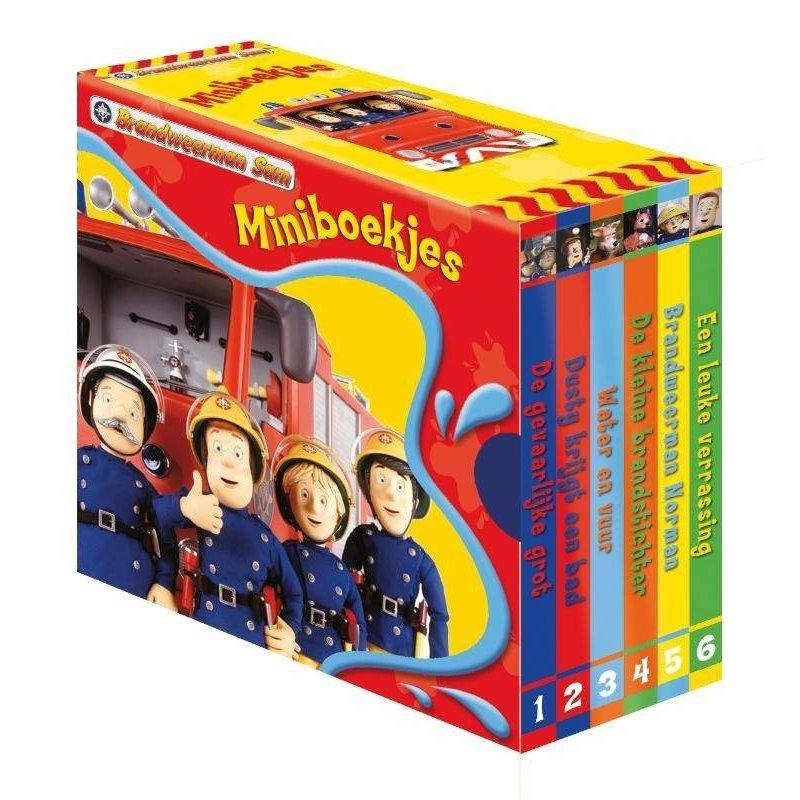 Brandweerman Sam uitdeelboekjes (per setje 6 boekjes)