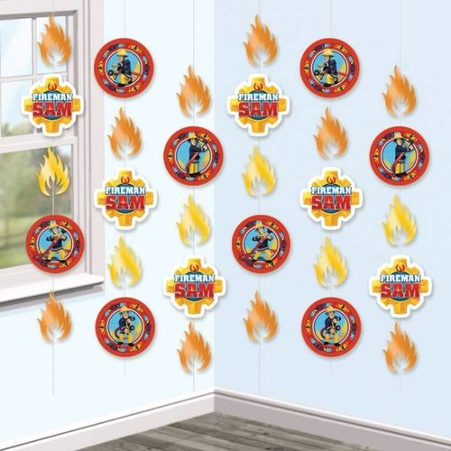 Hangdecoratie, brandweerman Sam