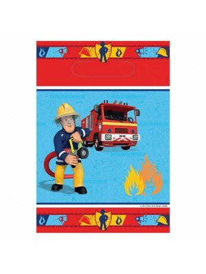 Feestzakjes, brandweerman Sam