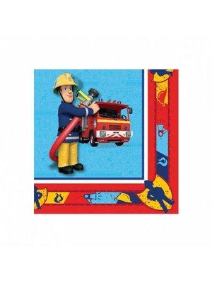 Servetten, brandweerman Sam feest (N)