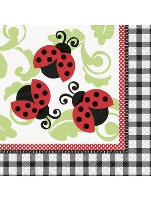 Servetten, Lively Ladybug (geen tekst)