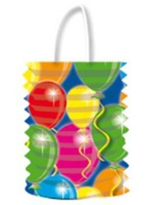 Lampion gekleurde ballonnen