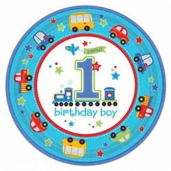 Borden, eerste verjaardag jongen transport