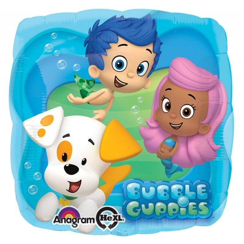 Bubble Guppies, folie ballon