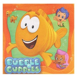 Bubble Guppies, servetten