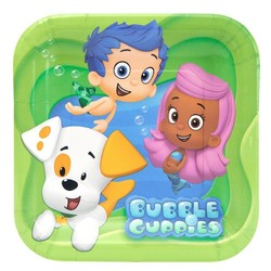 Bubble Guppies, gebaksbordjes 8 stuks