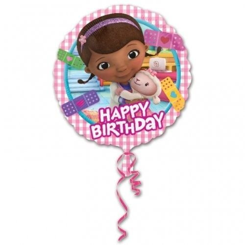 Doc McStuffins folie ballon 43cm Happy Birthday