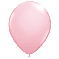 Ballonnen lichtroze metallic