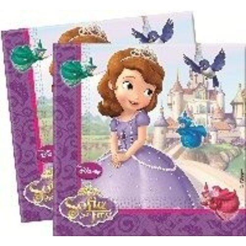 Sofia het prinsesje, servetten
