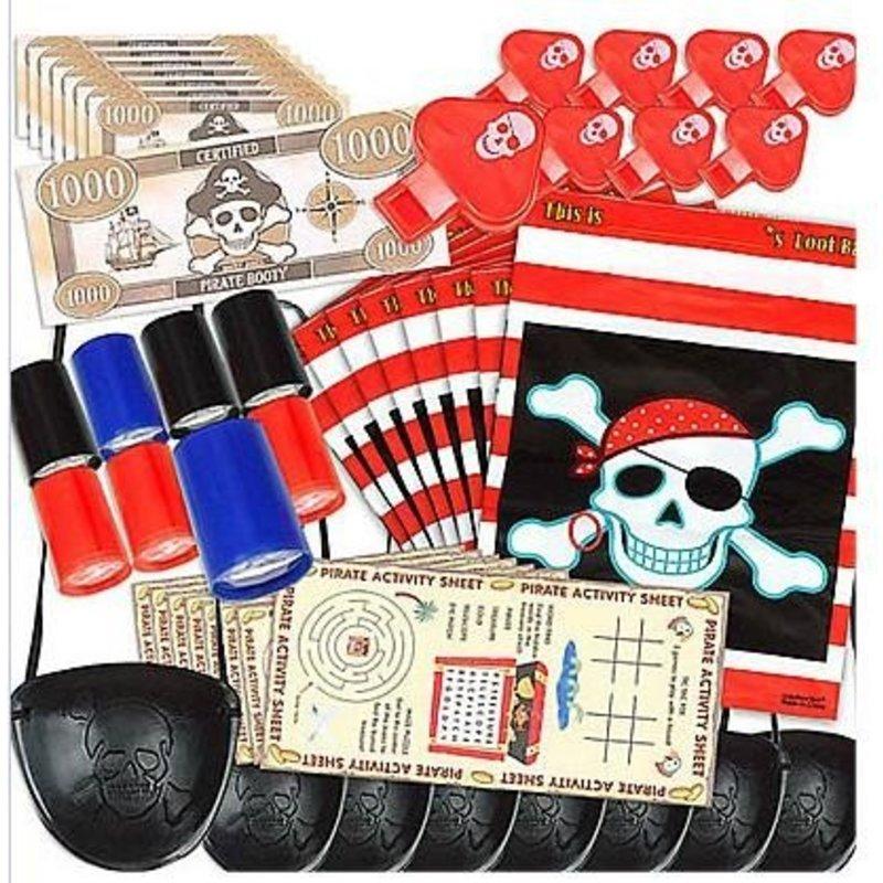 48 piraten uitdeelcadeautjes