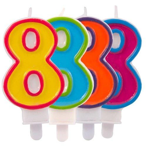 verjaardagskaars 8