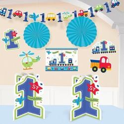 Grote decoratie set jongen 1 jaar