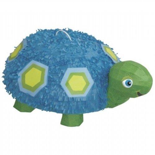 Pinata blauw, 1e verjaardag schildpad