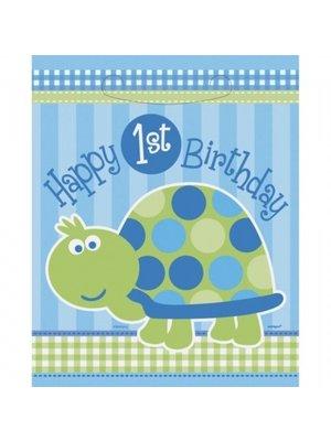 Feestzakjes, 1e verjaardag schildpad