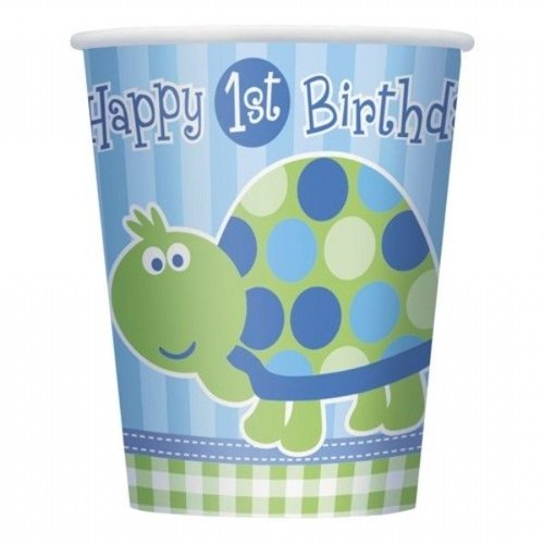 Bekers, 1e verjaardag schildpad