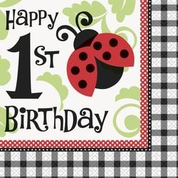 Servet 1e verjaardag, Lively Ladybug
