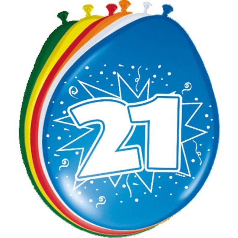 ballonnen gekleurd afbeelding 21