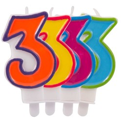 verjaardagskaars 3