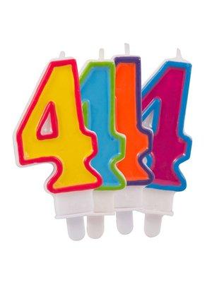 verjaardagskaars 4