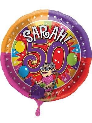 Sarah folie ballon
