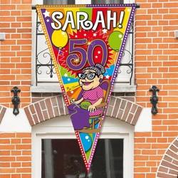 Sarah mega balkon/deur punt vlag