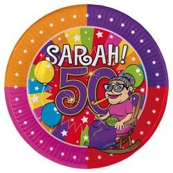 Sarah gebaksbordjes