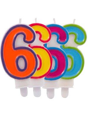 verjaardagskaars 6