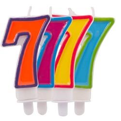 verjaardagskaars 7