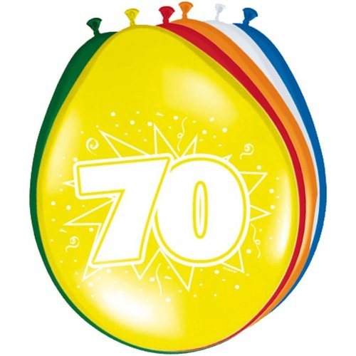 ballonnen gekleurd afbeelding 70
