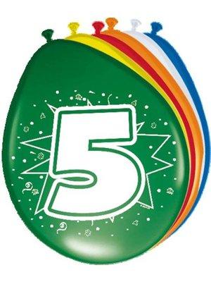 ballonnen gekleurd afbeelding 5