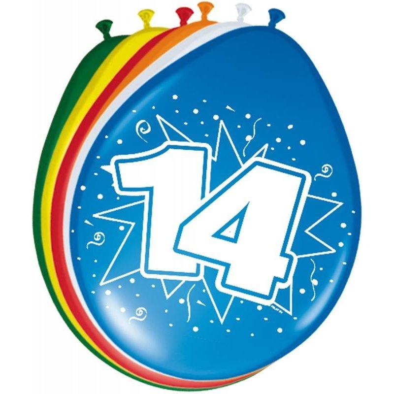 ballonnen gekleurd afbeelding 14