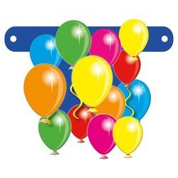 Letterslinger tussenstuk ballonnen