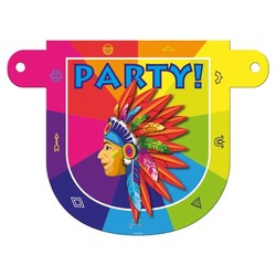 Letterslinger tussenstuk Party Indiaan
