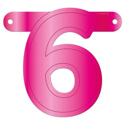 Letterslinger getal 6
