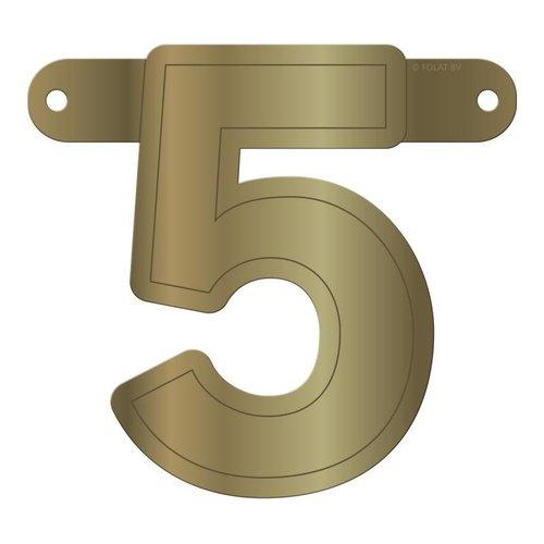 Letterslinger getal 5